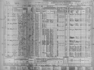 US Census 1940 – Tucker, Georgia